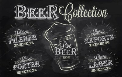Namen von Biersorten Kreide