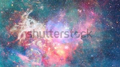 Sticker Nebel im Weltall. Kosmischer Hintergrund. Elemente dieses Bildes von der NASA eingerichtet.