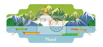Nepal Reise und Attraktion Sehenswürdigkeiten
