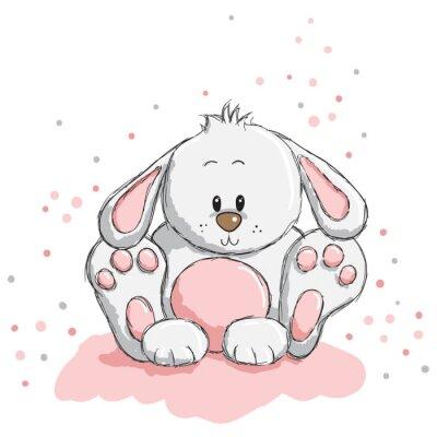 Sticker Nette Kaninchen