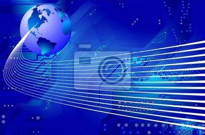 Netzwerk - Kommunikation - Vektor