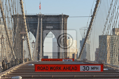 New York Brooklyn Bridge Kabel