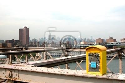 New York Brooklyn Bridge Notfall