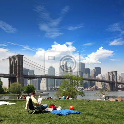 New york - Brooklyn-Brücke