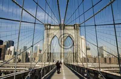 New York-Brooklyn-Brücke