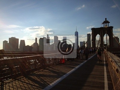 New York Brooklyn Brücke Ponte Manhattan