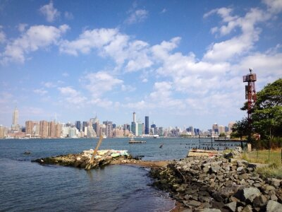 New York Brooklyn Williamsburg East River