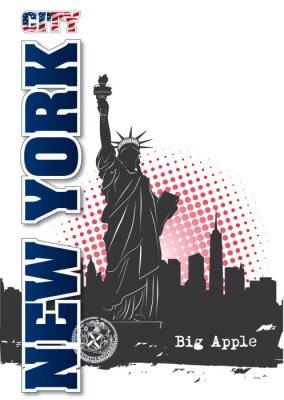 Sticker New York City