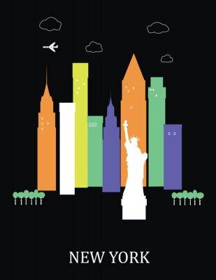 New York City. Vektor
