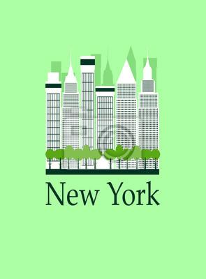 New York Reise Hintergrund.