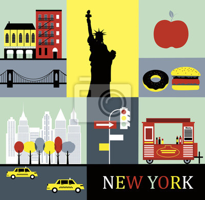 New York. Vector