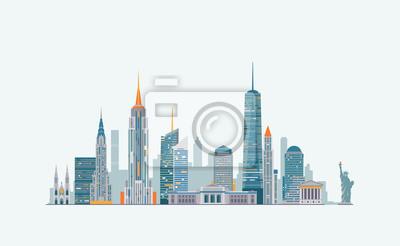 New York Zusammenfassung Skyline