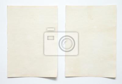 Sticker note paper on white background