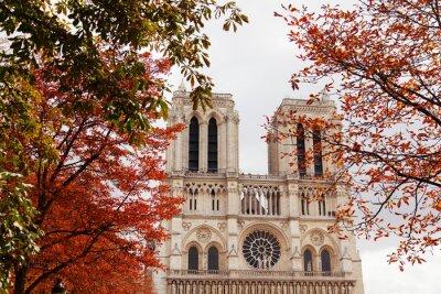 Sticker Notre Dame, Paris