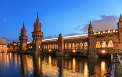 Sticker Oberbaumbrücke, Berlin, Deutschland