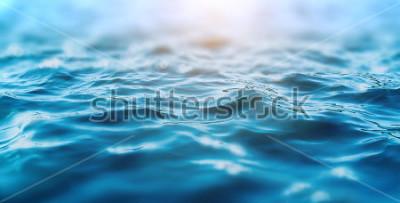 Sticker ocean water background