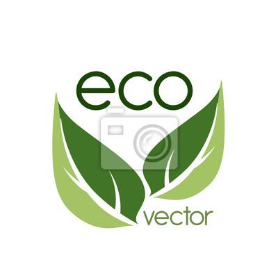 Sticker Ökologie-Design