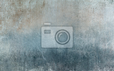 Sticker Old distressed blue grungy wall background