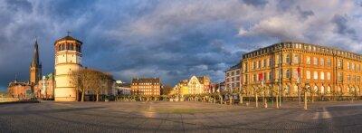 Old town of Dusseldorf, Germany