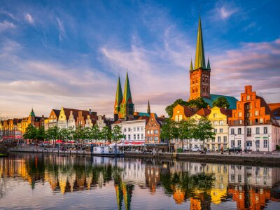 Old town of Lubeck, Germany