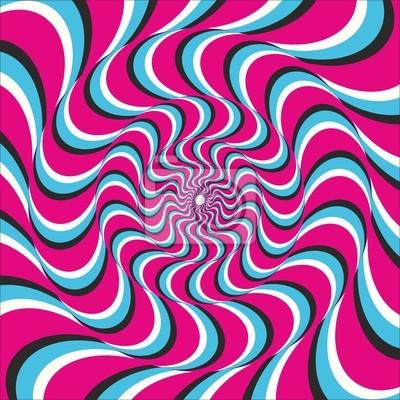 Optische Täuschung Ellipse Welle