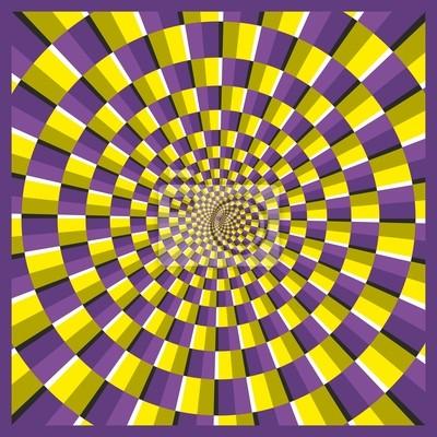 Optische Täuschung Frame Ellipse