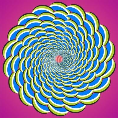 optische Täuschung Whirlpool