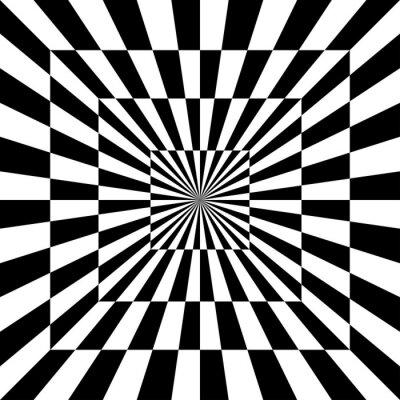 Sticker Optisches Muster