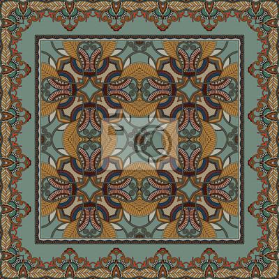 Ornamental Muster. Retro-Stil