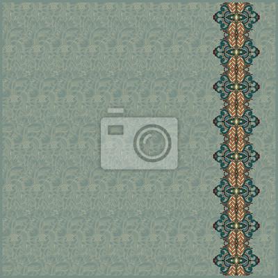 Ornamental Streifen auf nahtlose Muster Hintergrund. Abstrakt desig
