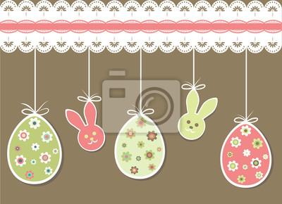Ostern-Postkarte