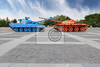 Painted Tanks in Kiew