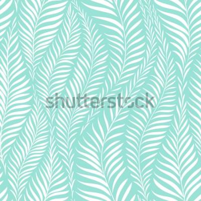 Sticker Palmblatt-Muster. Vektor-illustration Dekorelement
