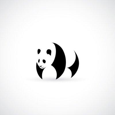 Sticker Panda-Symbol