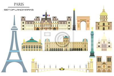 Paris colorful vector 1
