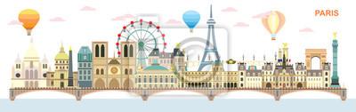 Paris colorful vector 8