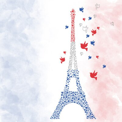 Sticker Paris Eifel Turm