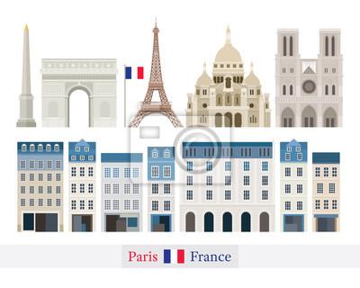 Paris, France Building Landmarks