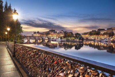 Sticker Paris - Pont des Arts