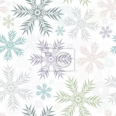 Pastell nahtlose sanften Weiß-Muster