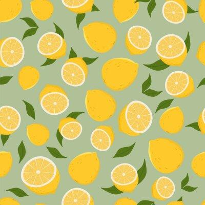 Sticker Pattern of lemons.