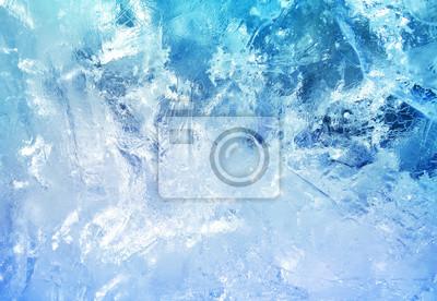 Sticker Pattern of transparent shiny ice.