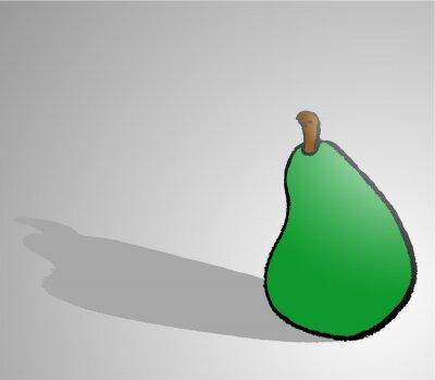 Sticker pear draw