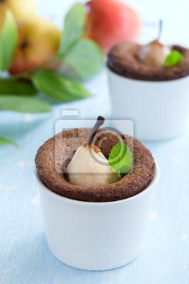Pear Schokoladen-Muffins