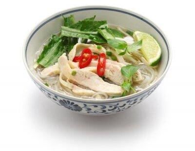 Sticker Pho ga, vietnamesische Huhn Reisnudelsuppe