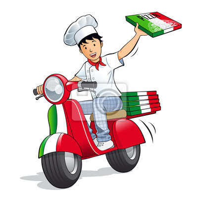Pizzeria - Pizza Livreur de en Roller
