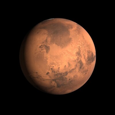 Sticker Planet Mars