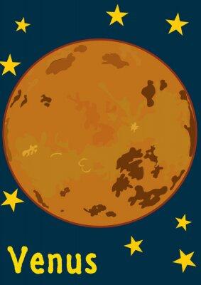 Sticker Planet Venus