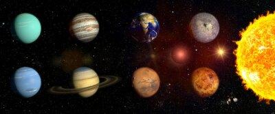Sticker Planeten unseres Sonnensystems