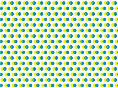 Sticker Polka Dot weiß nahtlose Vektor-Muster